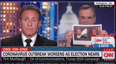 Chris Cuomo is slammed by Tump Coms manager Tim Murtaugh over COVID